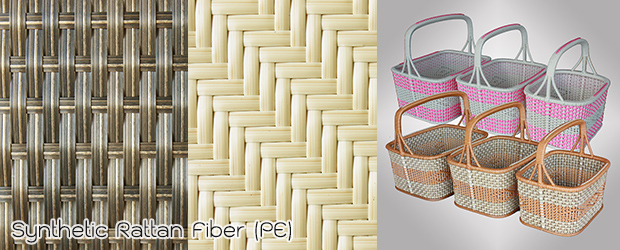 Synthetic Rattan Fiber PE