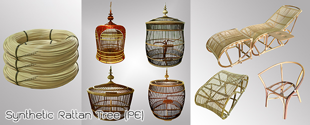 Synthetic Rattan Tree PE